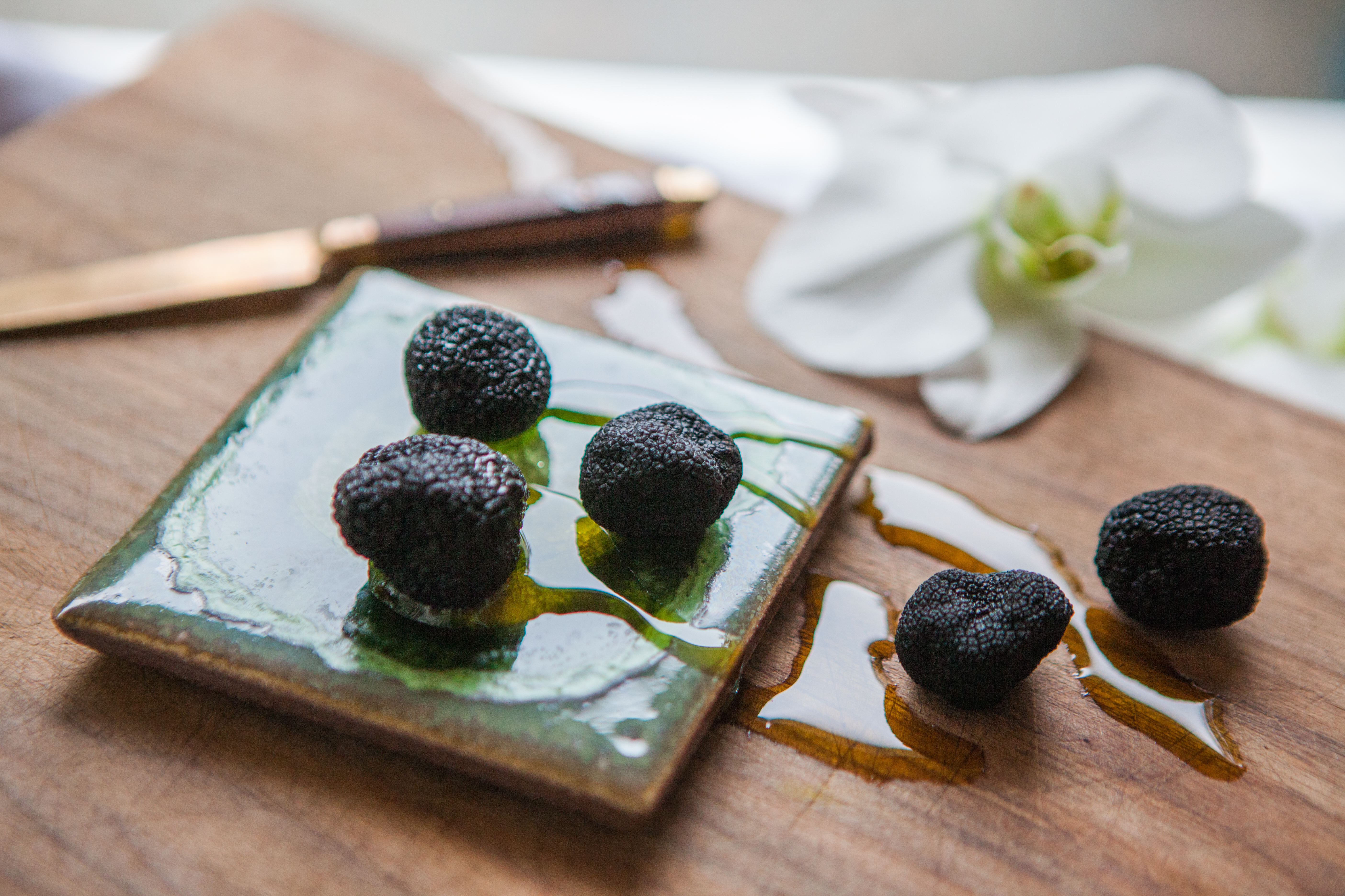 Beautiful Truffles shot by #KharenHill