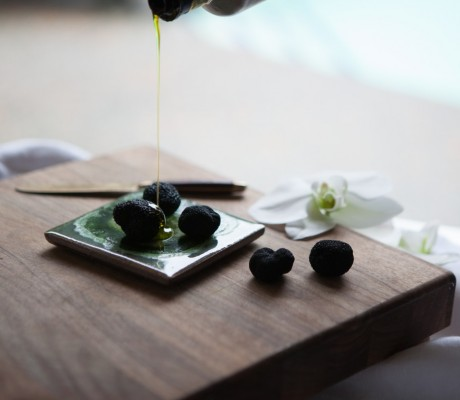 Black Truffles and Olive Oil