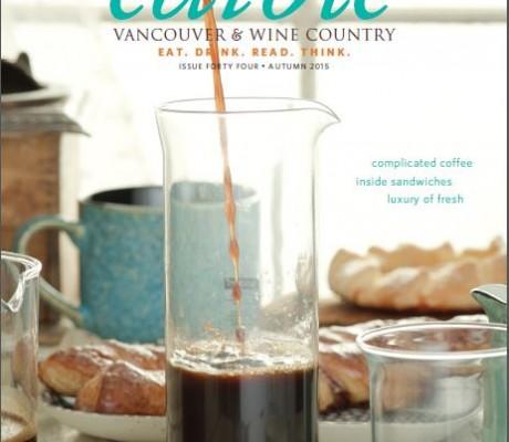 Edible Magazine Fall Cover